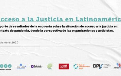Reporte: Acceso a la Justicia en Latinoamérica durante la pandemia de COVID-19