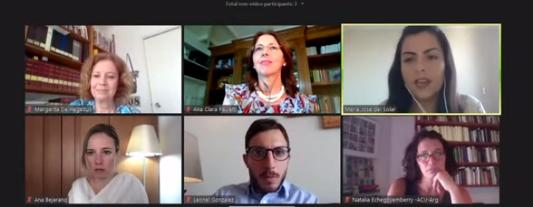 """Participamos del Seminario Internacional Virtual """"Las Reformas Procesales Civiles en América Latina"""""""